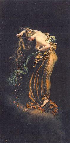 Anne-Louis Girodet de Roucy [Girodet-Trioson], (1767-1824) Automn (L'automne), 1800-1802