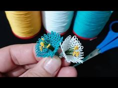 Thread Art, Needle And Thread, Needle Lace, Lace Flowers, Fabric Flowers, Wedding Flowers, Lace Makeup, Fabric Flower Brooch, Silk Floral Arrangements