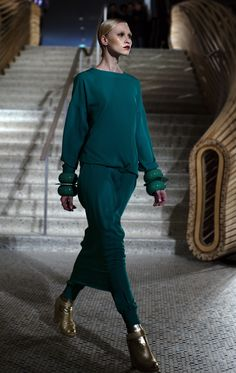 Hermes Fall 2011 | Solid Jade | The Sartorialist