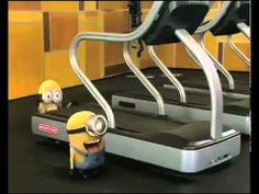 Minions In gym