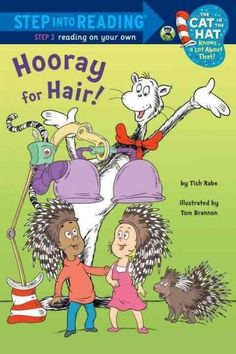 The Cat in the Hat goes on a hairy adventure in this leveled reader for independent readers all about--what else?--hair! It's Crazy Hair Day at Sally and Nick's school, and the kids can't pick a style
