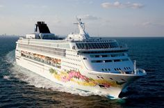 "Onboard the Norwegian Cruise Ship  ""SKY"" for a 4 day Bahamas cruise...4 times!!  Visited Freeport, Nassau, & Great Stirrup Cay"