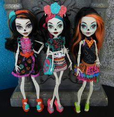 skelitas, monster high dolls skelita calaveras
