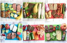Kids Packed Lunch, Lunch To Go, Lunch Menu, Lunch Box, Food To Go, Food N, Good Food, Food And Drink, Yummy Food