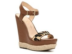 45$   Jessica Simpson Ashella Wedge Sandal