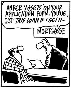 loans, mortgages, real estate, comic