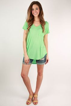 You can't ever have too many basic tees in your life, and this v-neck tunic tank is oh so versatile! It comes in a variety of colors that will fit any of your style needs! Pair it with jean shorts and sandals or even your favorite boyfriend jeans. All you need to dress it up is a glam necklace and a pretty overlay for a perfectly charming look you can rock any day or night of the week!