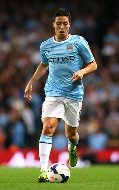 ~ Samir Nasri of Manchester City against Newcastle United ~