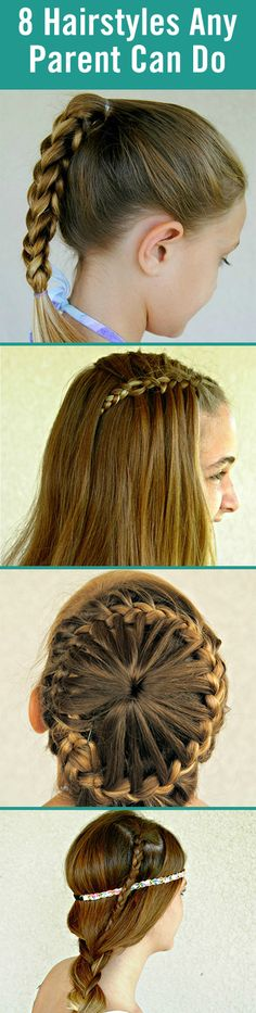 Up your parenting game by learning how to do these easy hairstyles on your kids. From a 3D split braid to a waterfall braid, your daughter will love these new looks.