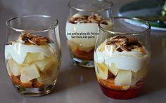 Verrine à la poire Panna Cotta, Pudding, Ethnic Recipes, Desserts, Blog, Pear, Gentleness, Food, Recipes