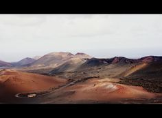 Bus tour around the Timanfaya National Park. Can you picture this as a movie set for some sci-fi thrilled?