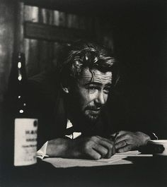 An image of Peter O'Toole in 'Baa'l by Bertold Brecht, Phoenix Theatre, London by Lewis Morley