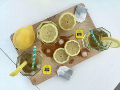 Homemade Ice Tea Green tea - Mydailyteacup
