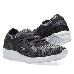 Asics' Gel Kayano receives another update with reflective threading running through its new knitted uppers. An iconic design since its release in 1993, the model has been deconstructed and reimagined with a two-toned monochromatic finish, while the rest of the shoe stays true to the original with moulded overlays and the heritage inspired midsole. Originally famous for its speed and style, the Kayano returns to the running work in this cutting edge execution.  Knitted Uppers 3M Detailing…