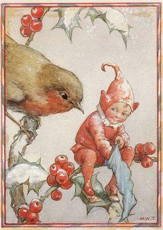 lilacsinthedooryard: Margaret Tarrant Christmas Card by sofi01