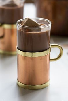 How to Make Fancy-Ass Hot Chocolate by acozykitchen #Hot_Chocolate