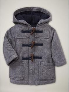 adorable herringbone toggle gap baby boys coat @Neelam Maredia I think since you are the shopaholic aunt you should buy all these cute coats for the baby... lol