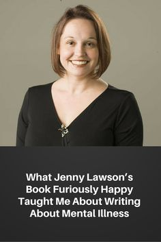 """""""By opening up so candidly in her book and talking about her struggles, she taught me that I shouldn't be ashamed of attaching my own name to my illness."""" Click to read more! #TheBloggess #JennyLawson #FuriouslyHappy #MentalHealth #ReadMore #Kobo #eBook"""
