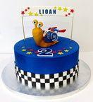 Gâteau Turbo l'Escargot   Gateaux sur Mesure Paris - Formations Cake Design, Ateliers pâte à sucre, Wedding Cakes, Gateaux d'Exposition