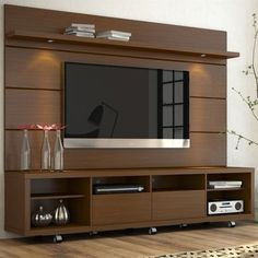 Decoration flat screen tv stand with shelves lovable console flat screen tv wall cabinet peacock flat Tv Stand And Panel, Tv Panel, Tv Cabinet Design, Tv Wall Design, Tv Stands, Tv Wall Cabinets, Modern Tv Wall Units, Modern Tv Room, Tv Unit Furniture