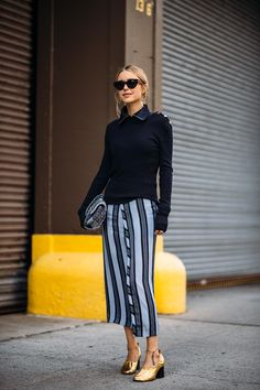 Pernille looking brills in NYC. #LookDePernille