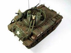 M42 Duster & M332 Ammo Trailer 1/35 Scale Model