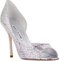 Sapatos de noiva Manolo Blahnik 2016: o máximo glamour para os seus pés Image: 0