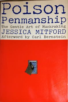 "Jessica Mitford, onetime ""queen of the Muckrakers,"" blew the lid off the overpriced casket and funeral industry in the early 1960s with ""The American Way of Death."" For a while, people were requesting funerals in the ""Mitford style"" and a ""Jessica Mitford"" casket — the cheapest available. This 1979 collection includes some of her best investigative journalism and commentary on how she did it. (Mitford died in 1996). The book is a great primer on how think about reporting in a way that makes…"