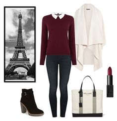 """Paris, c'est ma vie... "" by goblilin ❤ liked on Polyvore featuring Alexander McQueen, Mother, Oasis, Kate Spade, Yves Saint Laurent, NARS Cosmetics, women's clothing, women's fashion, women and female"