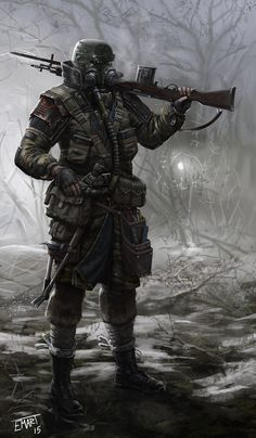 ArtStation - Dude With A Gun, Eric Martin