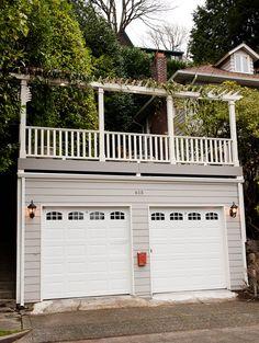 Seattle Deck Over Garage