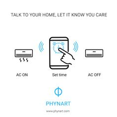 A home without remote controls. A home that listens to you. A home that does exactly what you want, and takes care of itself. Phynart helps you do exactly that. #IoT #AI #HomeAutomation