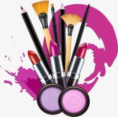 Vector de maquiagem, Maquiagem, Desenhos Animados De Maquiagem, BatomPNG e Vector