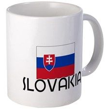 Slovak Flag Mug