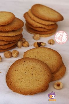 TEGOLE VALDOSTANE Bakery Recipes, Cooking Recipes, Cooking Cookies, Biscotti Cookies, Biscuits, No Cook Desserts, Healthy Sweets, Yummy Cakes, Sweet Recipes