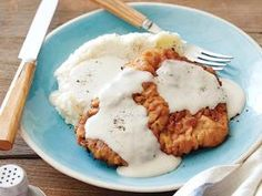 Chicken Fried Steak - Made this tonight and it's delicious! Cayenne pepper gives it a little kick. Fantastic flavor.