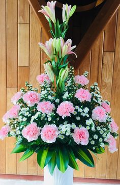 Idea Of Making Plant Pots At Home // Flower Pots From Cement Marbles // Home Decoration Ideas – Top Soop Easter Flower Arrangements, Funeral Flower Arrangements, Beautiful Flower Arrangements, Floral Arrangements, Beautiful Flowers, Altar Flowers, Church Flowers, Funeral Flowers, Cemetery Flowers
