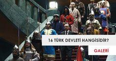 16 Türk devleti hangileridir?