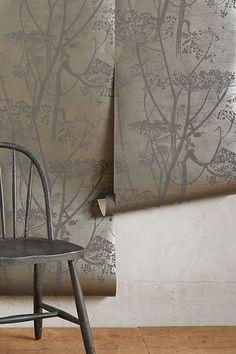 Slide View: 2: Queen Anne's Lace Wallpaper