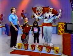Bozo Show Grand Prize Game, baby!