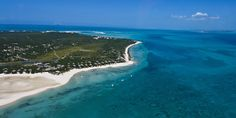 Mozambique coastline - south-east Africa