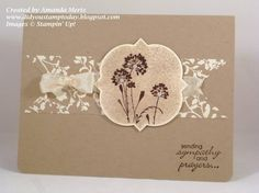 Serene Sympathy by mandypandy - Cards and Paper Crafts at Splitcoaststampers