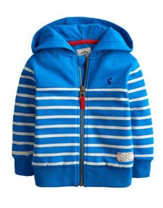 Fantastic lightweight sweatshirt jacket by Joules. Made from cotton this classic Joules print jacket will keep your little one cosy and looking stylish. Snow Suit, Print Jacket, Electric Blue, Hoodies, Sweatshirts, Sweater Hoodie, Baby Boy Outfits, Boy Fashion, Blue Stripes