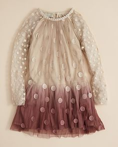Stella McCartney Kids Girls' Misty Dot Dress - Sizes 2-6 | Bloomingdale's