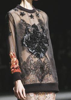 bowiesclockworkorange:  Givenchy fall 2013