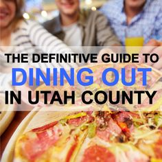 If you live in Utah Co. and are looking for somewhere to eat try looking at this list of 24 amazing local restaurants.