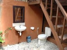toilet and shower at a village - Cerca con Google
