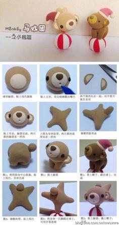 Polymer clay.