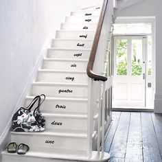 I say this in my head while I walk up stairs... Why not write it?