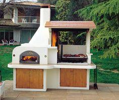10 diseños de churrasqueras o parrillas | Planos de casas